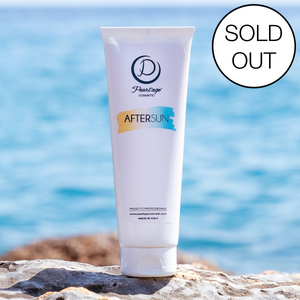 After sun sold out pearl'age cosmetic